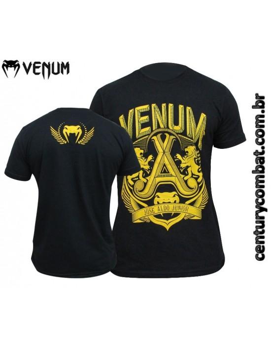 camiseta venum jose aldo vitoria preta amarela 620eb7bda34