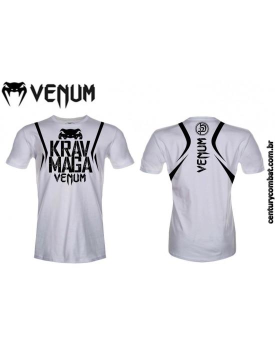 camiseta venum krav maga branca 0cfd0200611