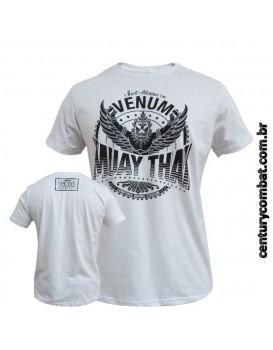 Camiseta Venum Muay Thai Garuda Branca