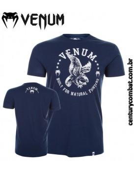 Camiseta Venum Natural Fighter Eagle Azul