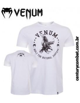 Camiseta Venum Natural Fighter Eagle Branca