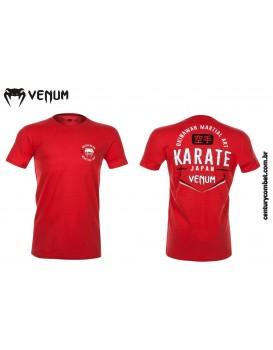 Camiseta Venum Okinawa Vermelha