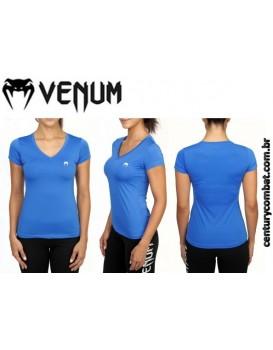 Camiseta Venum Performance Classic Azul