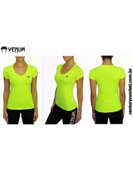 Camiseta Venum Performance Classic Amarela