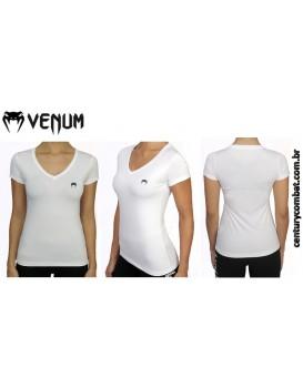 Camiseta Venum Performance Classic Branca