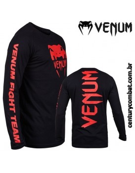 Camiseta VENUM Pro Team Long Sleeves Red Evil