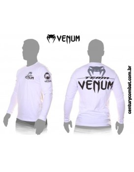 Camiseta Venum Pro Team Long Sleeves Tee Ice
