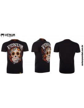 Camiseta Venum Santa Muerte Preta
