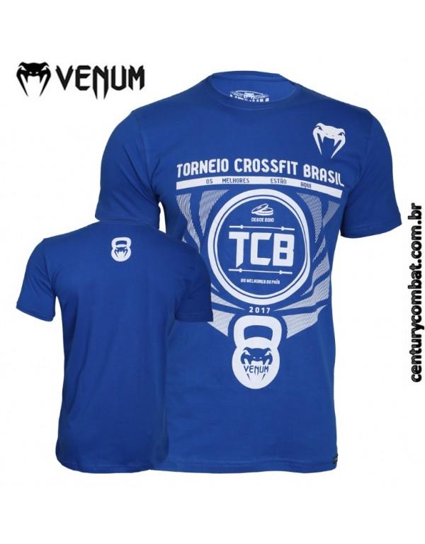 camiseta venum tcb azul 8493ab6496a
