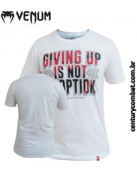 Camiseta Venum Theory Branca