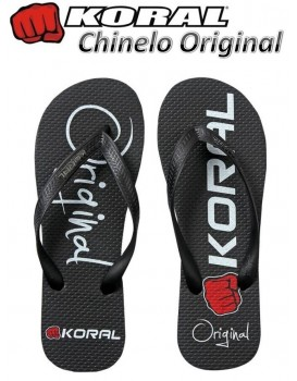 Chinelo Koral Fight Original Preto