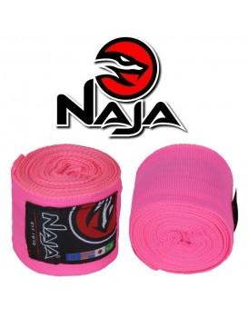 Bandagem Naja Linha Colors Rosa Flúor