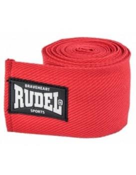 Bandagem Rudel Elástica 50mm 3 metros Vermelha