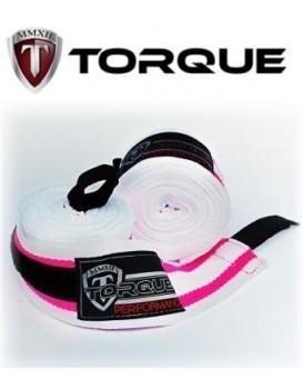 Bandagem Torque Performance Branco Rosa 5M