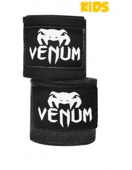 Bandagem Venum Infantil 2.5m Preta