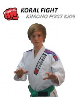 Kimono Koral First Kids Branco