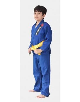 Kimono Koral Kids Trançado Azul Royal
