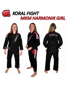 Kimono Koral MKM Harmonik Preto