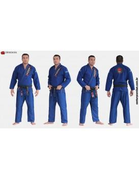 Kimono Koral Slim Fit Classic Azul