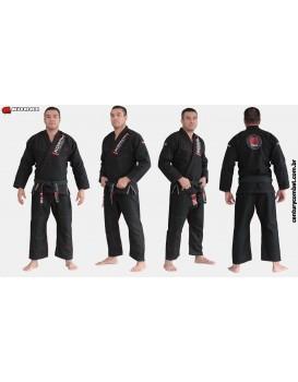 Kimono Koral Slim Fit Classic Preto
