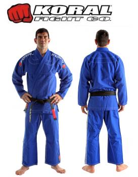 Kimono Koral Novo Classic Azul Royal
