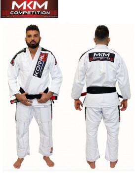 Kimono Koral Novo Mkm Competition Branco
