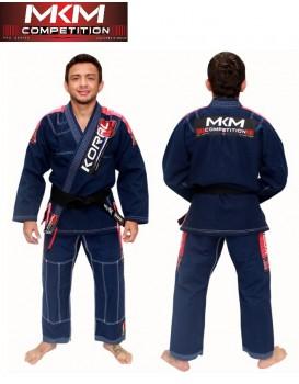 Kimono Koral Novo Mkm Competition Marinho
