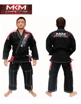 Kimono Koral Novo Mkm Competition Preto