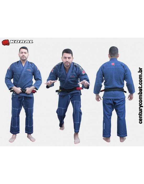 Kimono Koral Mkm Competition Estonado Marinho