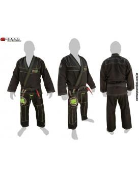 Kimono Koral Clean Black Edição Limitada