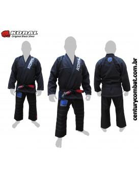 Kimono Koral Original Black Silver Edição Limitada