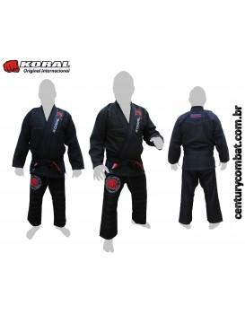 Kimono Koral Original Internacional Preto Edição Limitada
