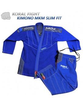 Kimono Koral MKM Slim Fit Azul Royal