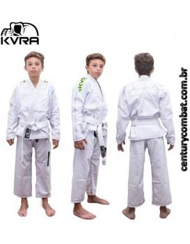 Kimono Kvra Infantil Bjj Style Branco