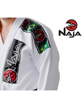 Kimono Jiu Jitsu Naja Branca Prata
