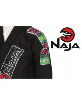 Kimono Jiu Jitsu Naja Preto Prata