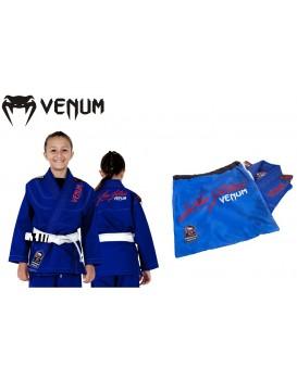 Kimono Venum Challenger Kids Azul