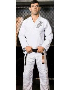 Kimono Venum Competidor Brasil Branco