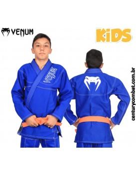 Kimono Venum New Competition Brasil Infantil Azul