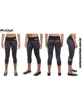 Calça Legging Corsário Venum Fusion Preta