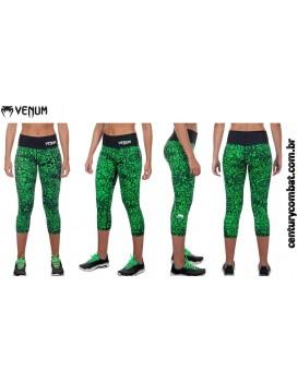 Calça Legging Corsário Venum Fusion Verde