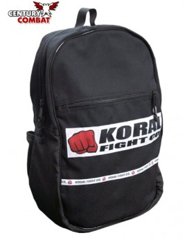 Mochila Koral Back Pack Patch Preta