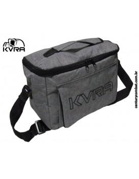 Food Bag KVRA Cinza Preta