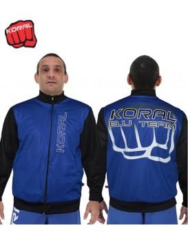 Jaqueta Koral Jiu Jitsu Team Azul