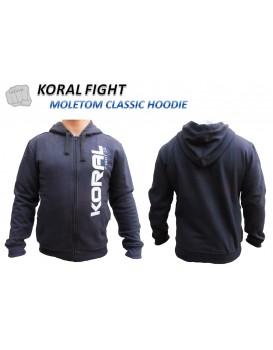 Moletom Koral Classic Hoodie Marinho