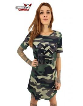 Vestido Kvra Army