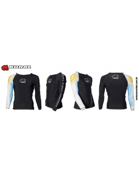 Rash Guard Koral Country Argentina Preta