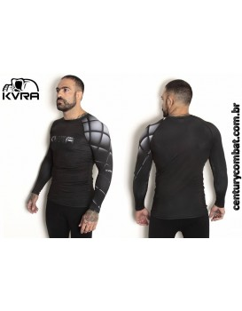 Rash Guard Lycra Kvra Triple Black