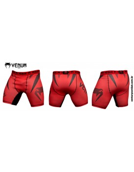 Short Compressão MMA Venum Jaws Vermelho
