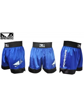 Short Bad Boy Muay Thai Azul Preto